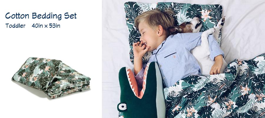 Cotton Bedding Set - Toddler