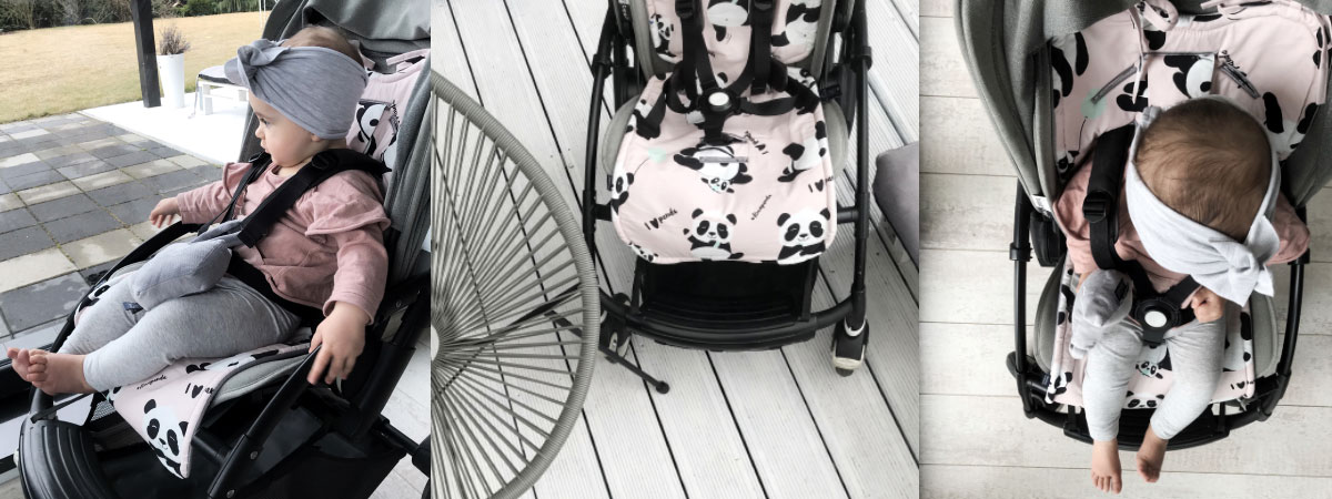 La Millou Velvet Stroller Pad