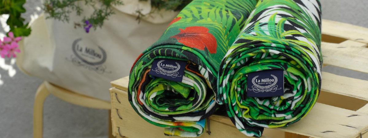 La Millou Muslin Swaddle Blankets